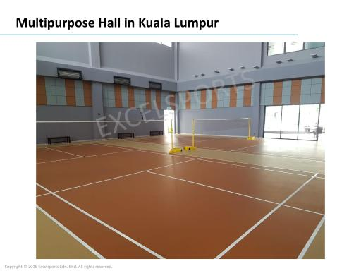 Excelsports Sdn Bhd Builtory Sports Flooring Contractor