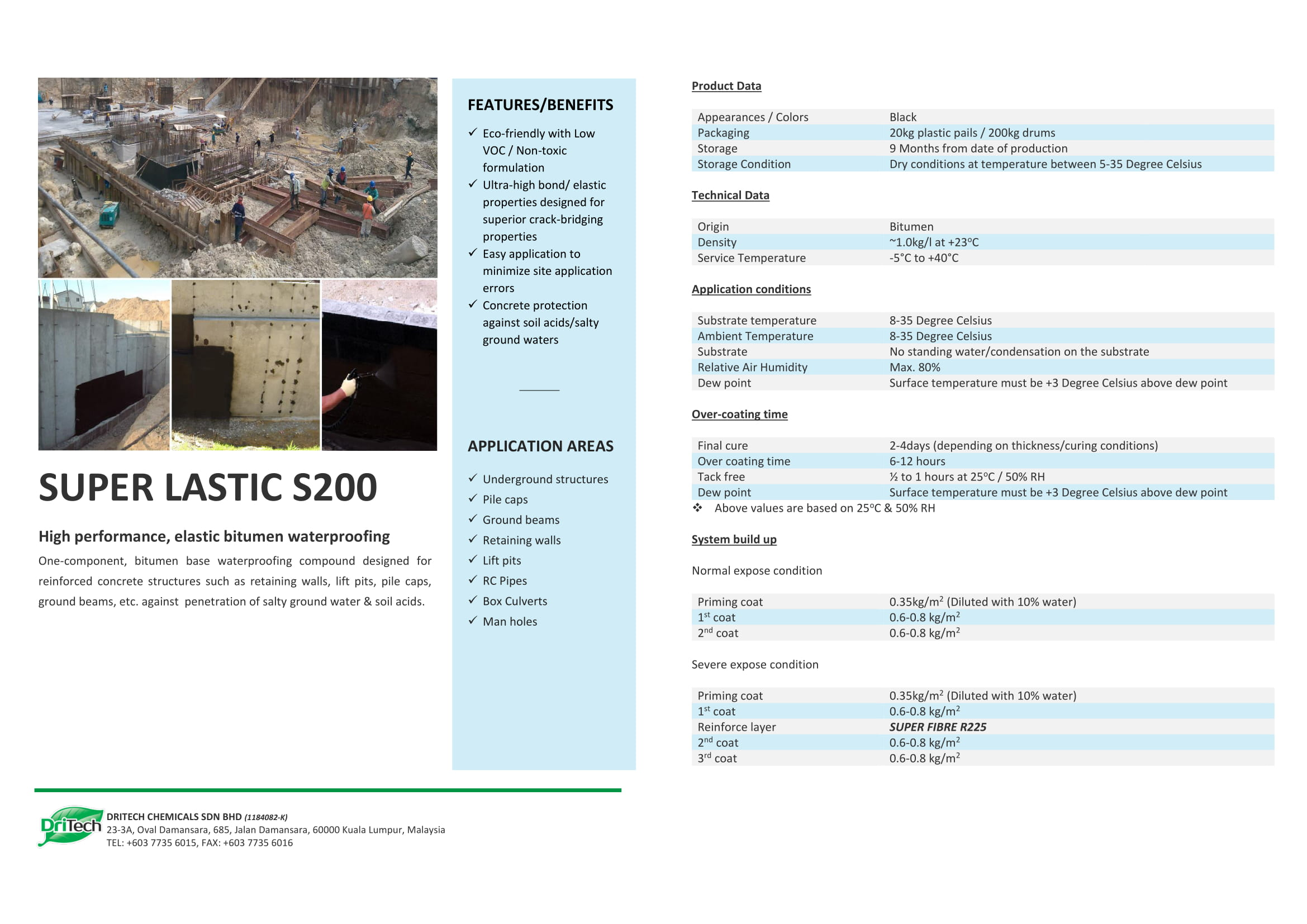 Dritech Waterproofing   Builtory Construction System Malaysia