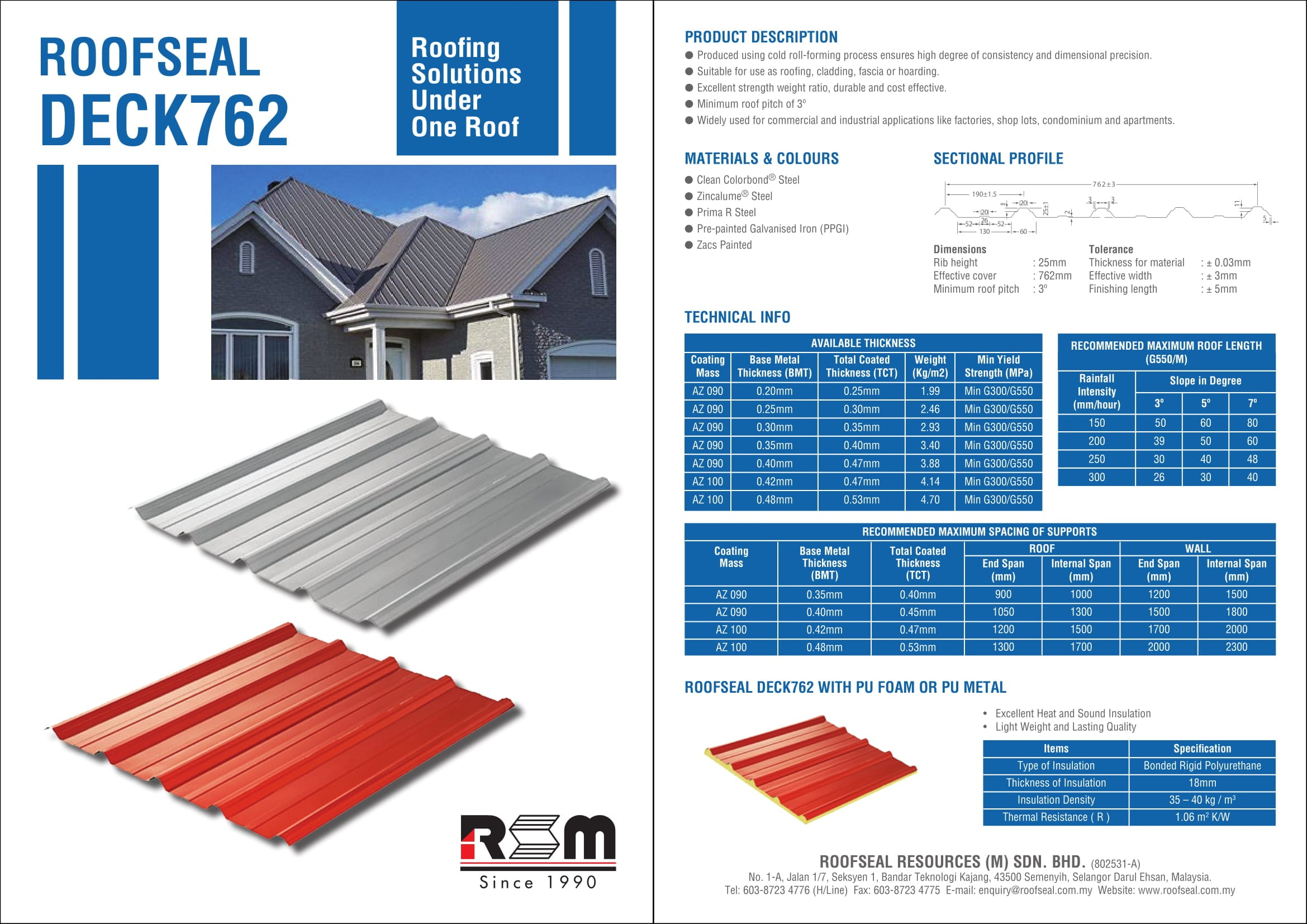 Roofseal Deck762 Metal Roof   Builtory Product