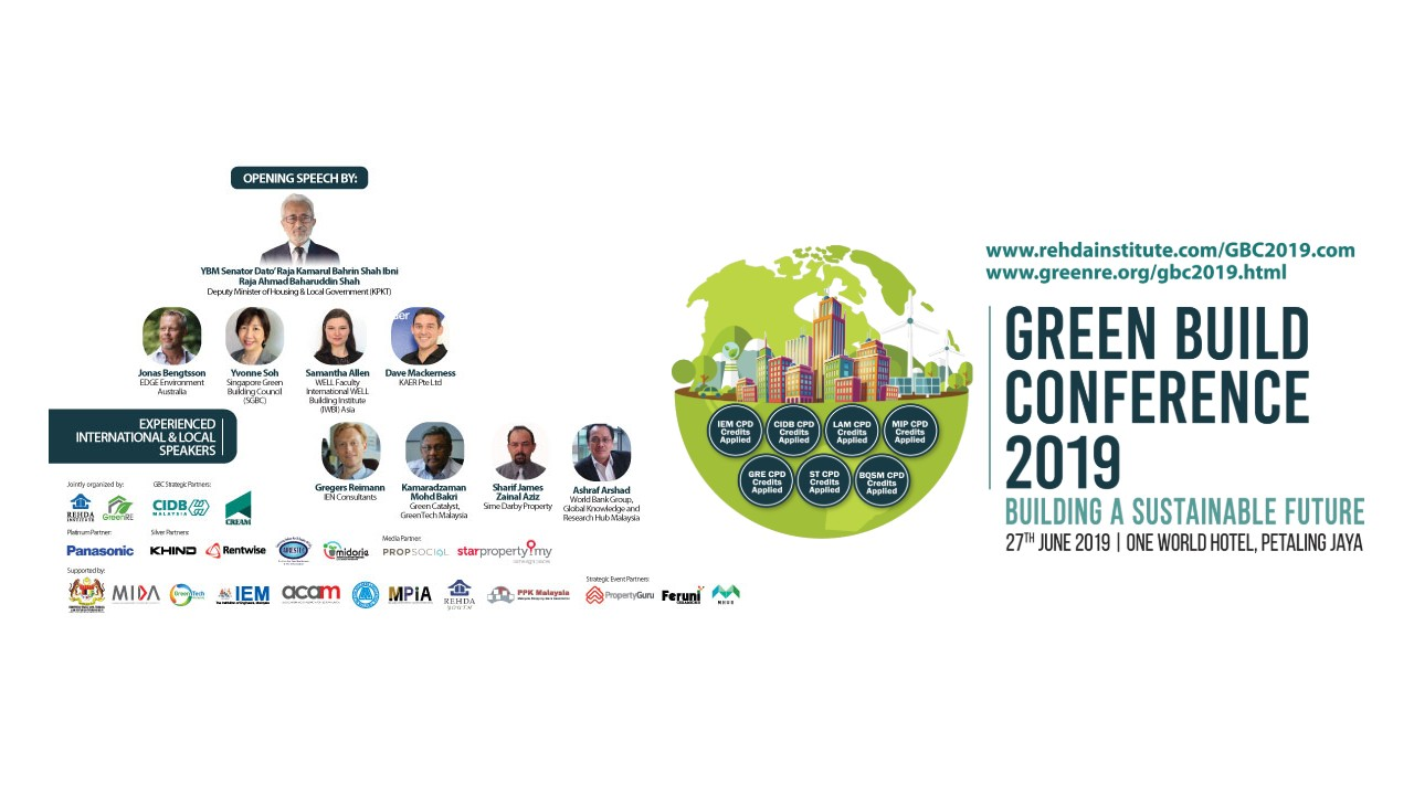 Green Build Conference 2019 06 27